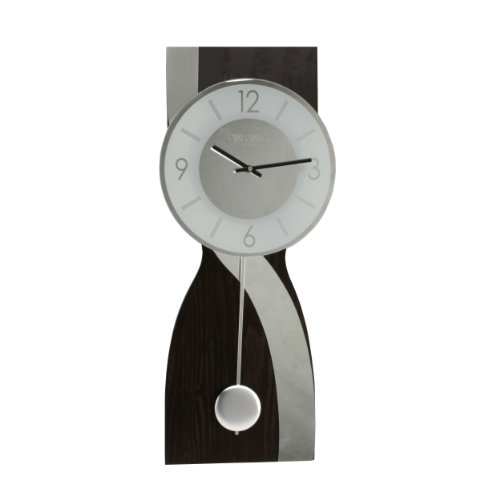 deluxe-dark-wood-with-mirror-wave-pendulum-wall-clock