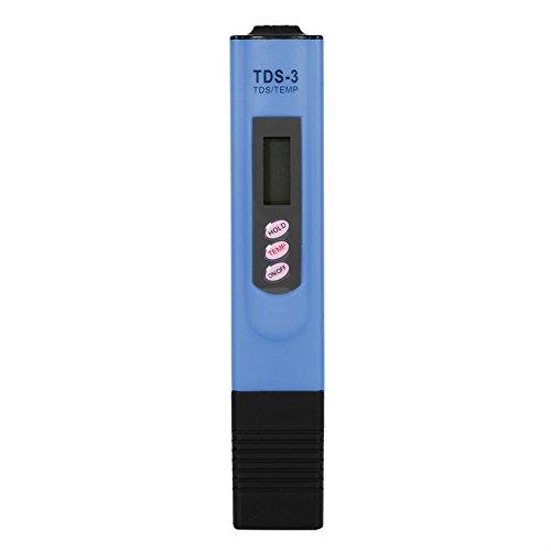 Digital TDS Meter, Wasser Qualitätstest Meter Pancellent, der Stift Reinheits Filter TDS Meter Tester 0-9990 PPM Temp für Haushalts-Trinkwasser, Hydroponik, Aquarium, Swimmingpool, Badekurort prüft