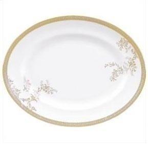 Wedgwood Vera Wang Spitze Goldoval Dish 39cm (Dish Oval Wedgwood)