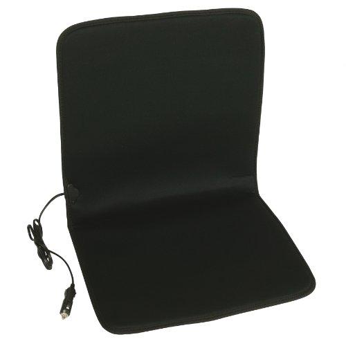 Unitec 75745 - Cojín calefactor para asiento (12 V, 34 W), color negro