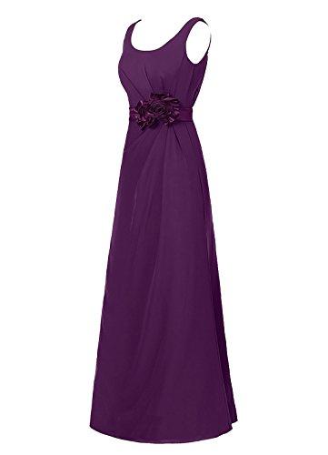 Dresstells, robe de soirée sans manches, robe longue de cérémonie, robe de demoiselle d'honneur Ivoire