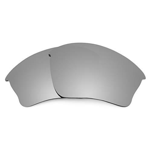 Revant Ersatzlinsen für Oakley Half Jacket XLJ Polarisierung Titanium MirrorShield® Asian Fit