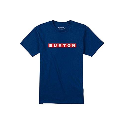 burton-camiseta-de-vault-hombre-t-shirt-vault-azul-m