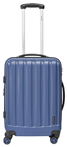 Packenger Velvet Koffer, Trolley, Hartschale 3er-Set in Atlantikblau, Größe M, L und XL - 4