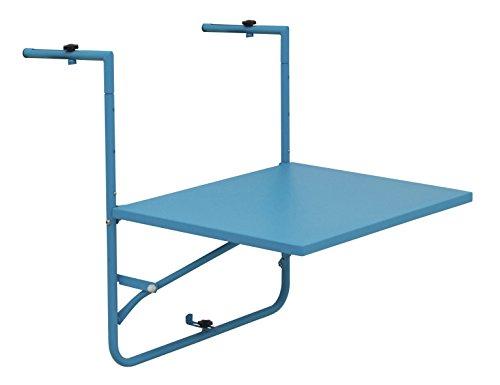 Siena Mybalconia 255027 Balkonhängetisch,matt-blau Stahlgestell matt blau
