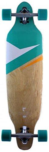 RAM Longboard-Komplettset grün Einheitsgröße