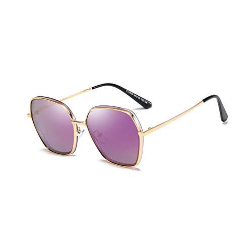 TYD.L Sonnenbrillen 1939 Frauen Männer Metall + TAC Retro Persönlichkeit UV400 Schutz UV-Schutz Polarisierte Sonnenbrille Verwendet Für Fahren/Reisen/Outdoor (Farbe : Z-2)