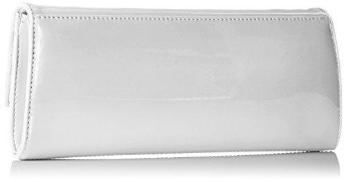 Picard Damen Auguri Clutches, 26x11x3 cm Weiß (weiss-lack)