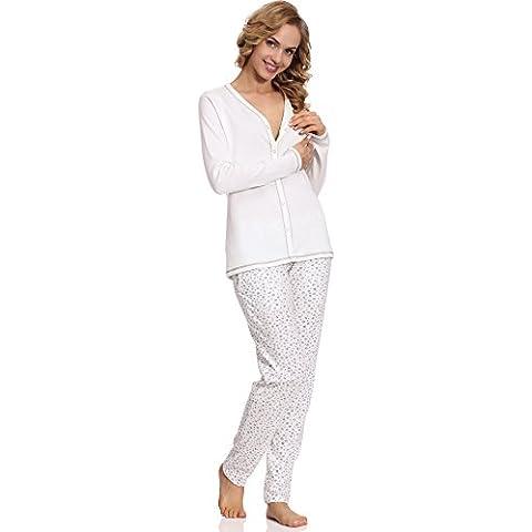 Italian Fashion IF Lactancia Pijama Camisón para mujer Liwia Mama 0223