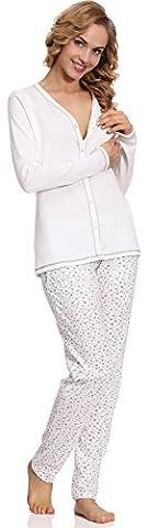 Italian Fashion IF Stillpyjama Liwia Mama 0223 (Ecru,