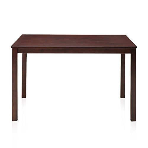 @home by Nilkamal FIDTPEAKDT4SCAP Four Seater Dining Table (Polished Finish, Brown)  available at amazon for Rs.4410