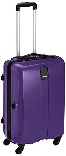 Safari Thorium Polycarbonate 66 cms Purple Hardsided Suitcase (Thorium-Sharp-Purple-65-4WH)