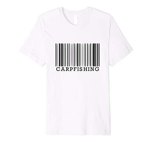 Barcode Carp Fishing Karpfenangler T-Shirt Karpfen Angeln