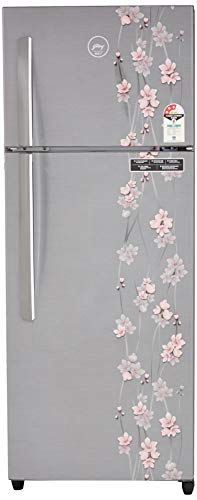 Godrej 261L 3 Star Frost Free Double Door Refrigerator (RT EON 261 P 3.4, Silver Meadow)
