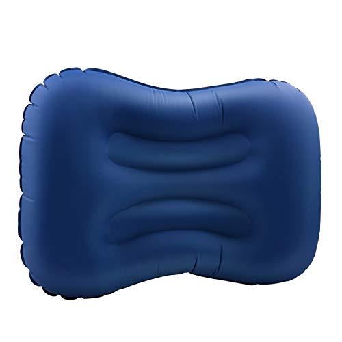 DTOETKD Aufblasbare Isomatte Ultraleicht, Kompakt Kleines Packmaß Camping Isomatte Bequem Luftmatratze - Outdoor Schlafmatte für Camping Wandern Backpacking Reisen Strand (D Farbe - Blau P)