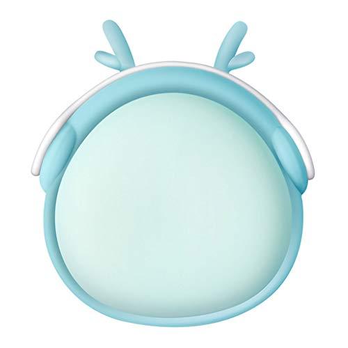 Wqlry scaldamani di ricarica, usb mobile power di grande capacità 6000mah piccolo portatile nuovo cartoon forma carino quattro colori opzionale come regalo per la fidanzata (colore : blu)