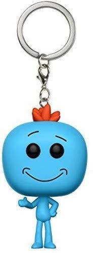 Funko-12921 Pocket Keychain: Rick & Morty: Mr. Meeseeks (12921)