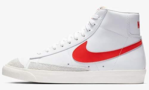 Nike Blazer Mid '77 VNTG Herren Bq6806-600, Rot (Habanero Red/Sail-White), 38 EU