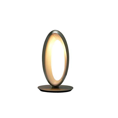 Tragbare Tischlampe, Schreibtischauge Tischlampe, Lesen Schreiben führte Tischlampe, kreative Schlafzimmer Nachttischlampe, Touch Dimmen Tischlampe (Farbe : Gold)