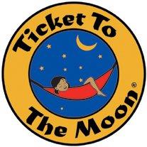 Ticket to the Moon Leichthängematte KingSize Schwarz-Gelb - 3