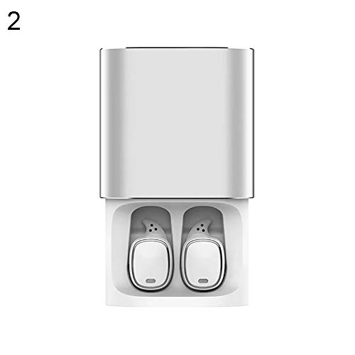 B5645ells Bluetooth Headset Ohrhörer mit Ladebox Mini Wireless Touch Control In-Ear - Weiß