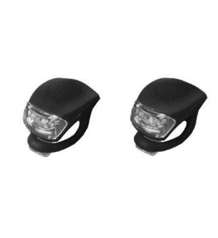 Leayao Mini LED Silikonleuchte 2er Set (Black)