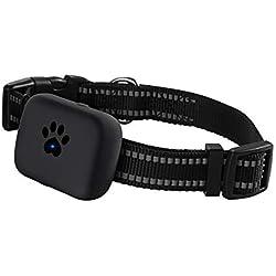 Pet Traqueurs GPS Tracker Étanche Locator Prévenir Errer pour Chats Chiens Lapins Rechargeable 3G Positionnement Anti-Perdu 50 * 37 * 15mm,Black