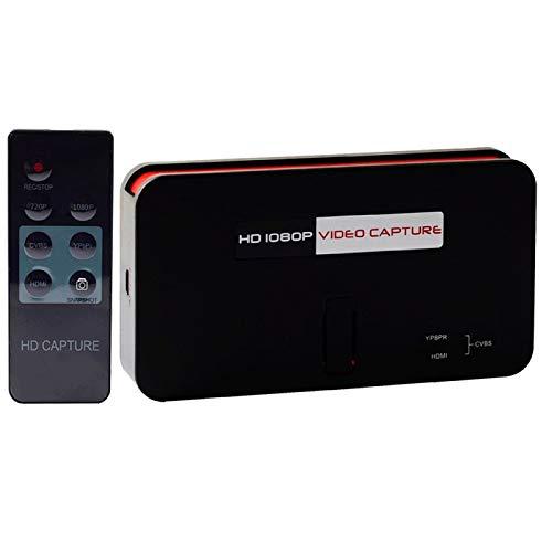 EZCAP284 Video Capture Device 1080P Game Capture Solution Remote Control USB TF