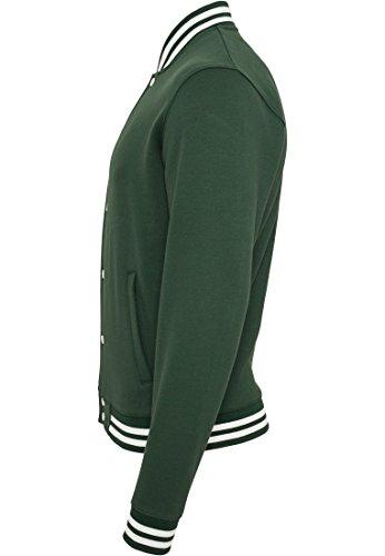 College Sweatjacket Grün
