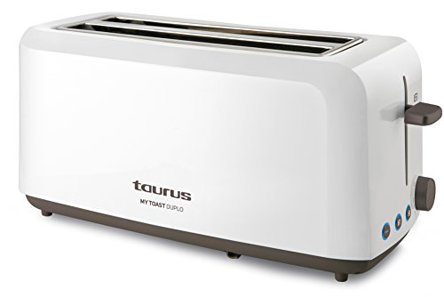 Taurus Mytoast Duplo - Tostadora (1450 W, tres funciones, iluminación LED)