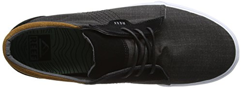 Reef Ridge Tx, Baskets Basses Homme Noir (Black)