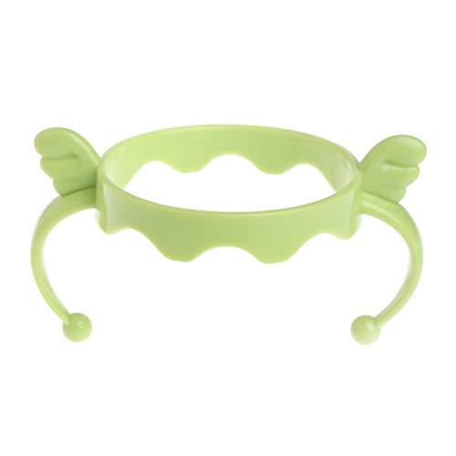 XTYaa Baby Cup Fütterungsflasche Trainer Easy Grip Kunststoffgriffe Halter für Comotomo grün Easy Grip Cup