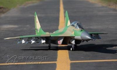 Lanxiang Fulcrum Mig-29 grün ARF 1142mm