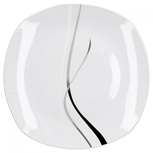 Servierplatte 28,5cm Service Serie Silver Night