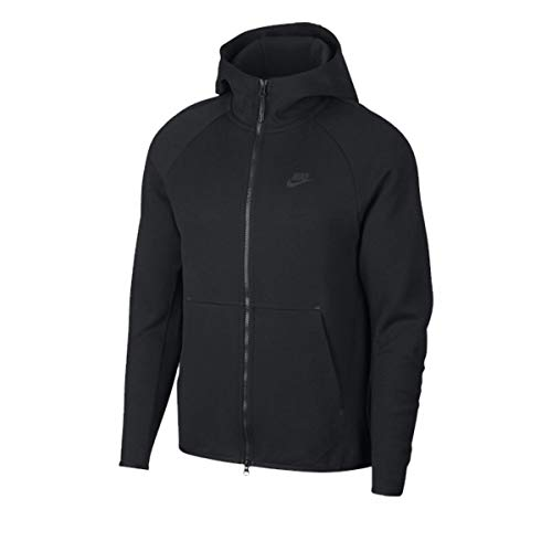Nike Sportswear Tech Fleece, Sudadera de Deporte para Hombre, Negro  (Black Black 7d88f9934751