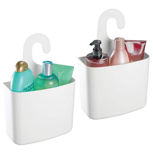 MDesign Juego 2 cestas ducha - Estante ducha grande