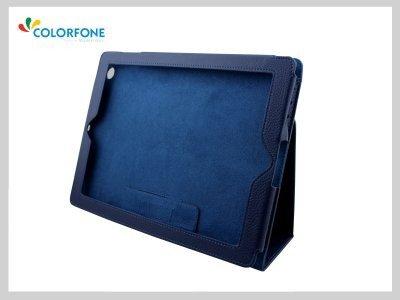 Bag Smart Cover iPad 2 3 4 Tablet Dark Blue Bleu Pliable sécurité Noble Cover Set