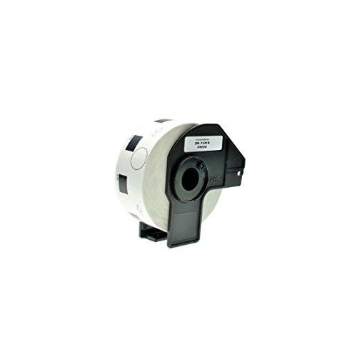 Top 50 x DK11218 24mm x 24mm Round Labels (1000 Labels per Roll) compatible with Brother QL-500, QL-550, QL-560, QL-570, QL-580N, QL-650TD, QL-700, QL-720NW, QL-1050, QL-1060N Special