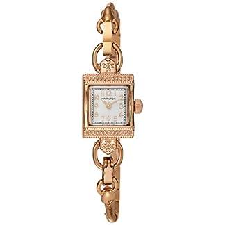 Hamilton Reloj Analogico para Mujer de Cuarzo con Correa en Acero Inoxidable H31241113