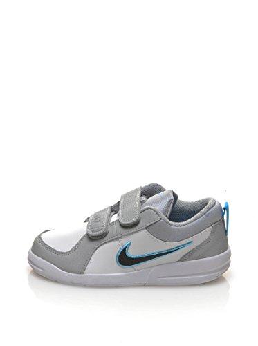 Nike Pico 4 (PSV), Jungen Sneakers Blanco / Azul / Gris