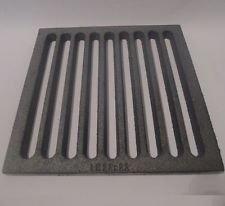 Powermat Gussrost 22 x 22 cm passend zu Spartherm Rost Ascherost Tafelrost Kaminrost