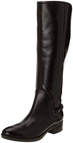 Geox D FELICITY, Damen Reitstiefel, Schwarz (BLACKC9999), 36 EU (3 Damen UK)