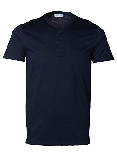Selected - T-Shirt Selected Apollo Bleu
