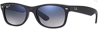 Ray-Ban New Wayfarer  - Gafas de sol para hombre, Negro, 52mm