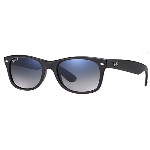 Ray-Ban - New Wayfarer, Occhiali da sole, unisex, Black, 55 mm