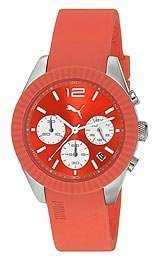 Puma Grip Chrono - S Orange Montre Femme PU102812002