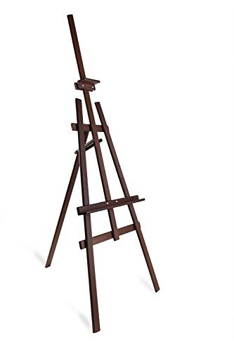 Studio Easel (1800mm) Display-Pinienholz-Leinwand-Bild-Halter-Braun