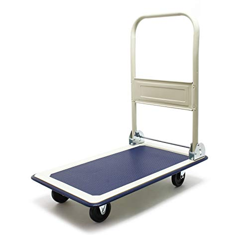 Plattformwagen bis 150kg Transportwagen klappbar Sackkarre Klappwagen Transporthilfe Paketwagen