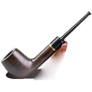 Yandou Rohr Right at Bec Flat Black Ebony Verstärkungsring aus Metall, Rohrmassivholz, auf Zubehör Senden, EIN Rohr