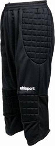 Uhlsport goalkeper 3/4corto pantaloni Sport Calcio Portiere Imbottito GK pantaloncini lunghi, Multi-coloured, S